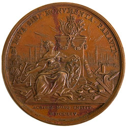 Дасье - реверс медали